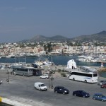 Aegina: The harbour from the west