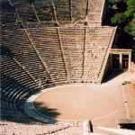 Epidavros: The Amphitheatre dates from 4th BC