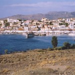 Perdika: Harbour and town