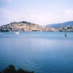 Poros: view of the town from the west