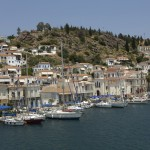 Poros: South quay, east of the town centre
