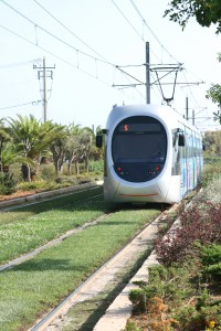Athens: Trams run from Kalamaki in to the centre of the city