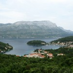 Banja: The bay on an unusually overcast day