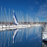 Biograd: The marina is a busy charter base but there's plenty of room in the week