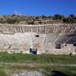 Bodrum: The Amphitheatre is a short walk from the centre of town and is still used