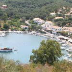 Agios Stefanos (NE Corfu): If there's no space on the jetties you can anchor