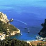 Spiridonos: An anchorage just west of Paleokastritsa
