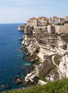 Bonifacio: The old town perched on the cliff top