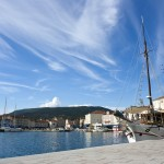 Cres Town: The harbour looking towards the inner basin