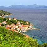 Valun: The village with its pink and yellow houses and small harbour