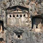 Dalyan: The Lycian rock tombs were the burial place for the kings of the ancient city of Caunos