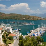 Fethiye: The marina is a short walk from the town centre