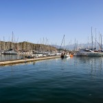 Fethiye: The marina, unusually empty