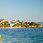 Gradac: The popular beach. You can anchor in the bay if the harbour is full