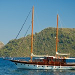 Turkish gulet skippers can be rather assertive