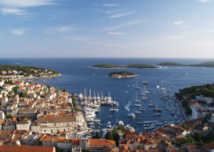 Hvar: Another busy day in this very popular harbour
