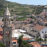 Hvar: The centre of the old town