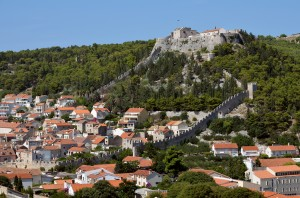 Hvar: The Venetian Fortress and city walls