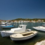 Jezera: The village still has its fishing boats though the bay has been turned into a marina