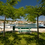 Jezera: The marina seems to have more character than many