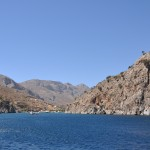 Vathi (Kalymnos): The harbour entrance