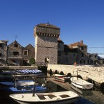 Kastel Stari: Old buildings and small boat harbour