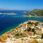 Kastellorizo: View over Mandraki Bay