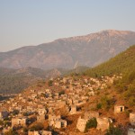 Kayakoy: The town of over 500 houses is now uninhabited
