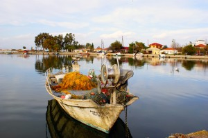 Koronisia: The harbour is prone to silting so proceed carefully