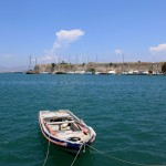 Kos Town: View towards the harbour entrance