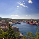 Kraljevica: The harbour and shipyard.