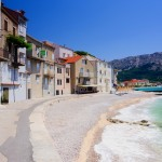 Baska: The sea front