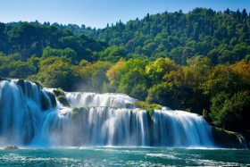 Skradin: Waterfalls in the Krka National Park