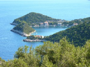 Zaklopatica: The bay, a short walk from Lastovo town