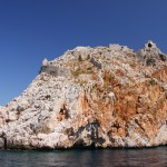 Loryma: Ruins of the Citadel at the mouth of the bay