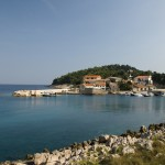 Sv. Martin: The village and small harbour