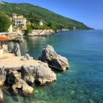 Lovran: The village hasn't been overwhelmed by the tourists