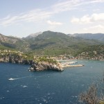 Soller: The town and bay, the only port on the north coast