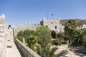 Marmaris: The Castle, from the days of Suleyman the Magnificent, now houses a small museum