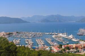 Marmaris: Netsel Marina, a popular charter base