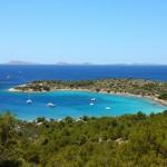 Kosirina: The bay provides a beautiful anchorage