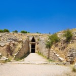 Mycenae: Entrance to the Treasury