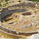 Mycenae: One of the tombs at this important burial site