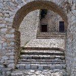Nafplion: Palamidi Fortress. It's only 1000 steps to the top!