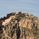 Nafplion: The Palamidi Fortress guards the town