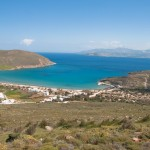 Paros: Marmara bay is a pleasant anchorage in good weather