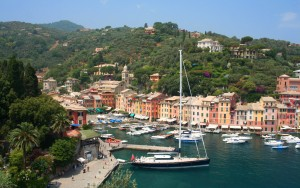 Portofino: A beautiful if rather up market resort in a great setting