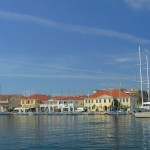 Preveza: Yachts line the town quay of this low lying town