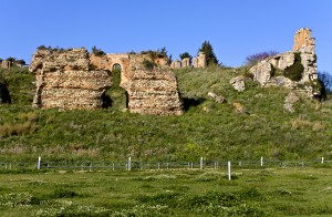 Preveza: Part of the extensive ruins of Nicopolis, just north of town