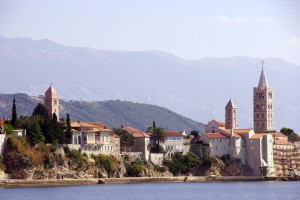 Rab Town: The old town on the headland is full of history (and churches)!